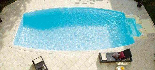 Этап 3. Запуск композитного или пластикового бассейна и оформление вокруг