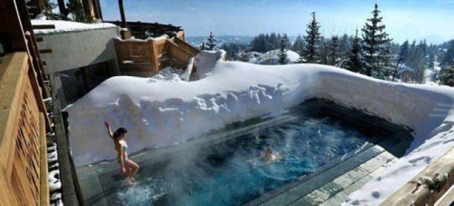 Как подготовить и обслуживать открытые бассейны зимой