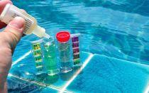 Определение состава воды тестерами для бассейнов