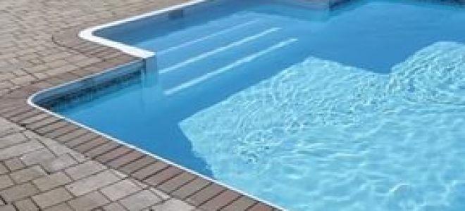Кирпичный бассейн на участке своими руками