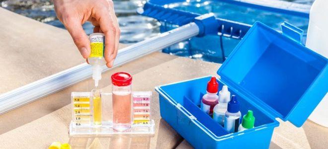 Как провести дезинфекцию воды химией в бассейне