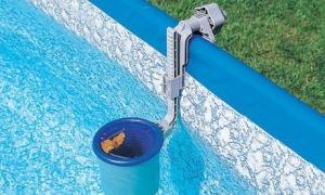 Как установить скиммер в свой бассейн и провести чистку?
