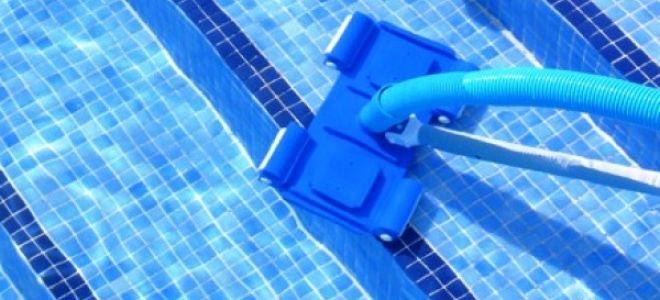 Как выбрать подводный пылесос для своего бассейна