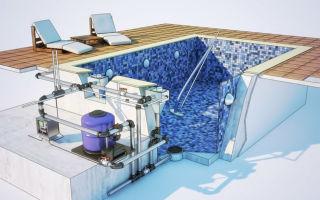 Как работает система циркулярной очистки воды бассейна