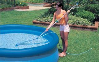 Как правильно мыть и чистить бассейн