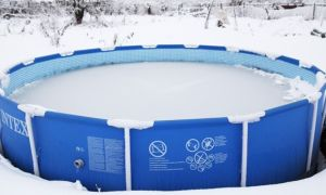 Правильное хранение и консервация каркасного бассейна зимой