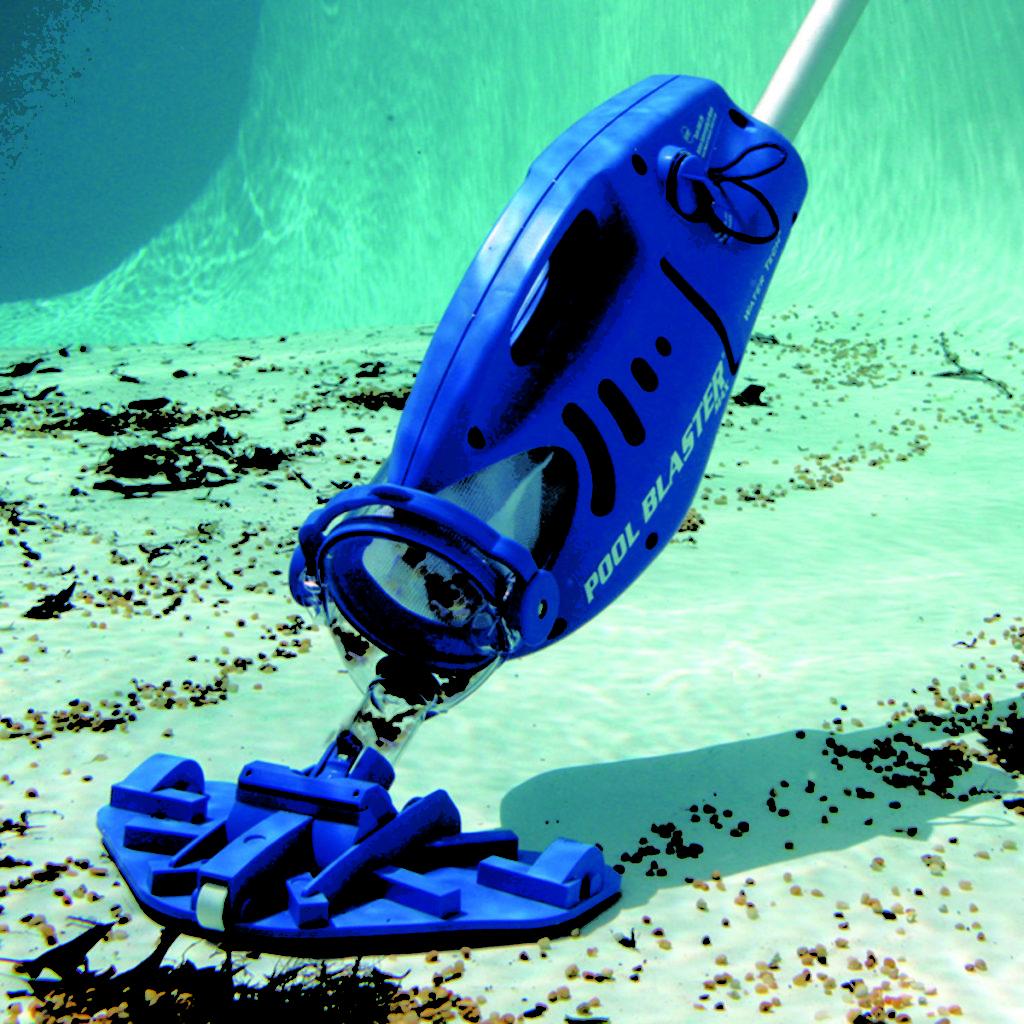 Подводный пылесос соберет всю грязь со дна