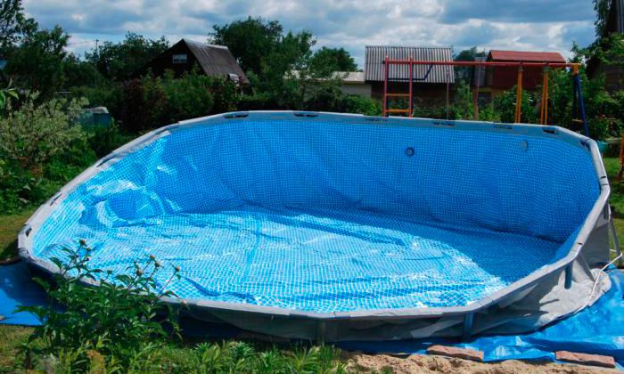 Собрать каркасный бассейн