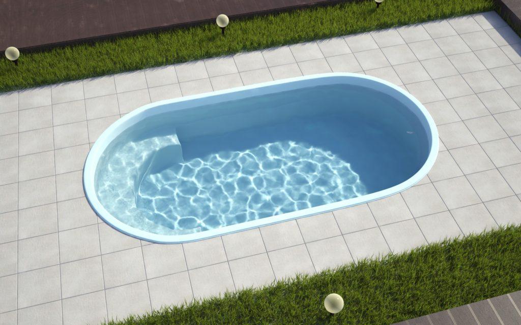 Овальная форма бассейна предпочтительнее