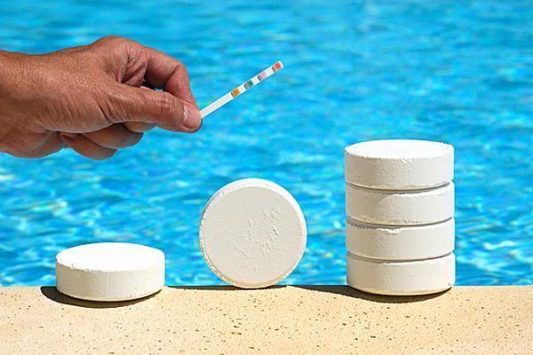 Хлор в таблетках для бассейна