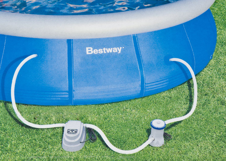 Нагреватель воды в бассейне