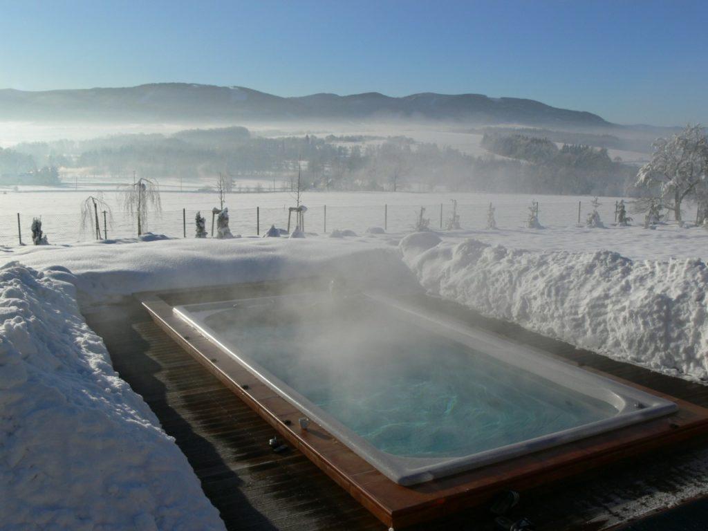Резервуар с зимним подогревом