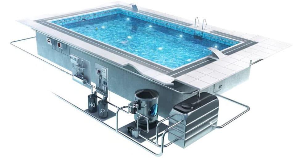Системы бассейна в схеме